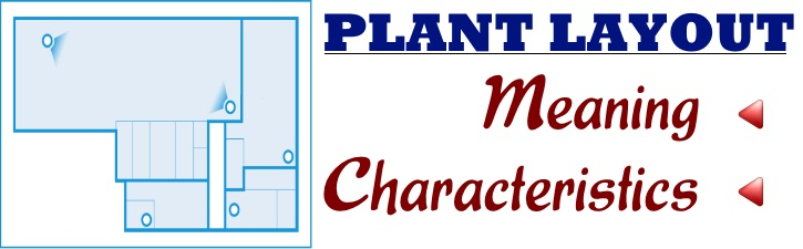 Plant Layout - Meaning, Characteristics