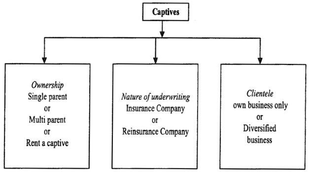 Types of Captives