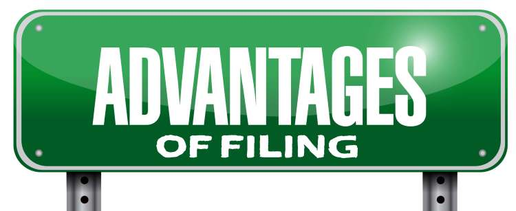Advantages of Filing