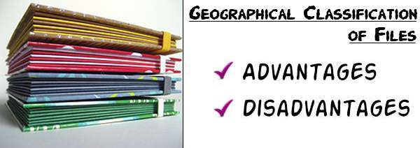 Geographical classification of files