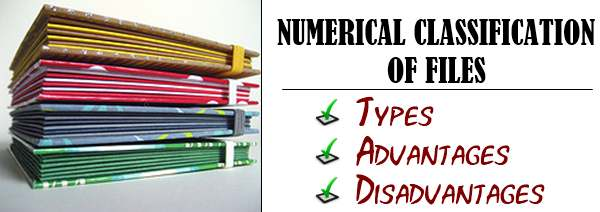Numerical classification of files