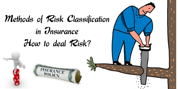 Methods of Risk Classification in Insurance, How to deal risk.