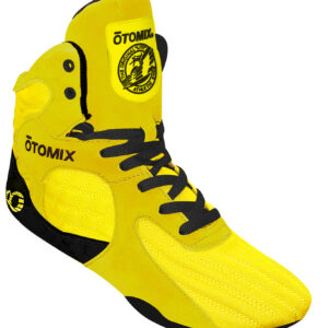 yellow gym shoes