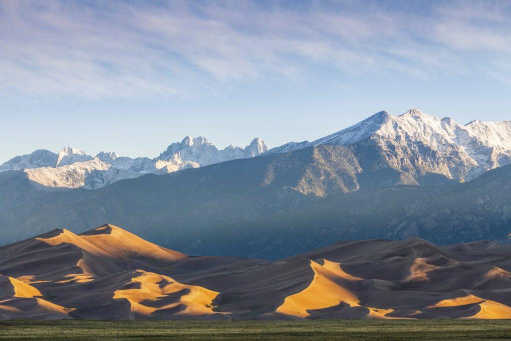 Dunes mountains