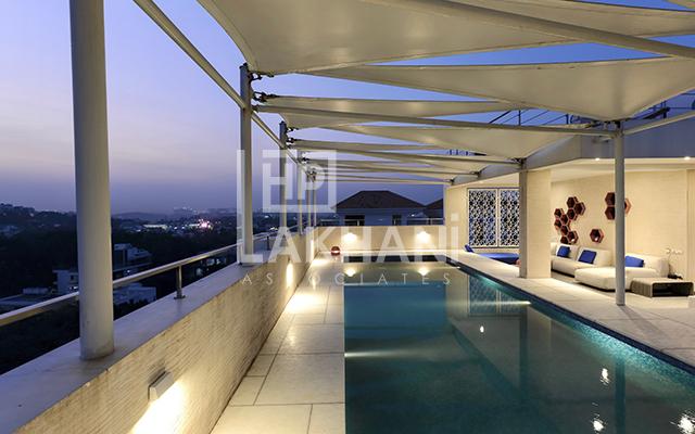 custom indoor pools design by HP Lakahani