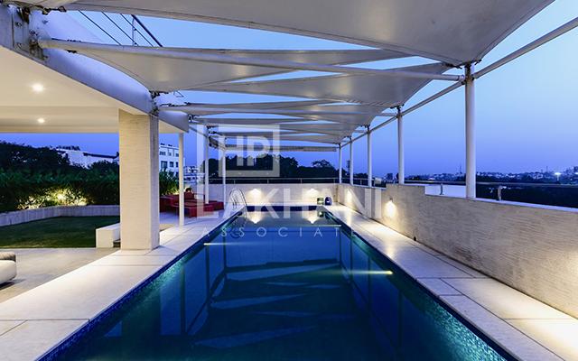 Tiberwal's residential indoor pool designs