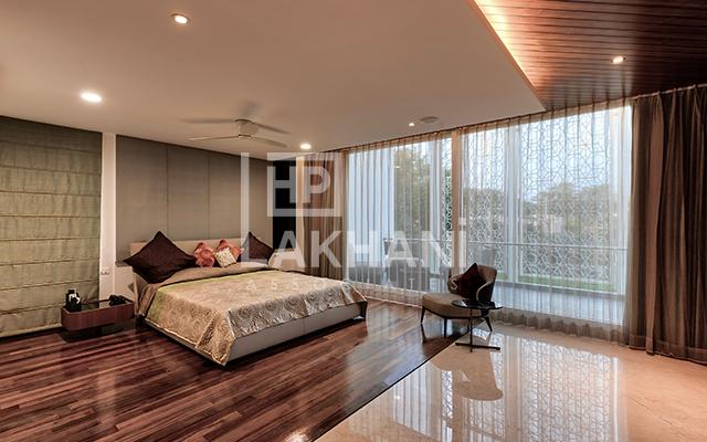 Tiberwal's Residence luxury bedrooms interior design
