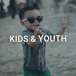 Kids beach clothing
