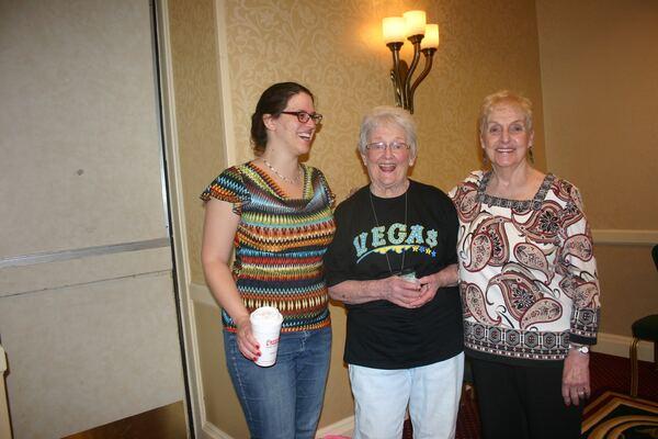 Megan, Mama Nance and Jeanine