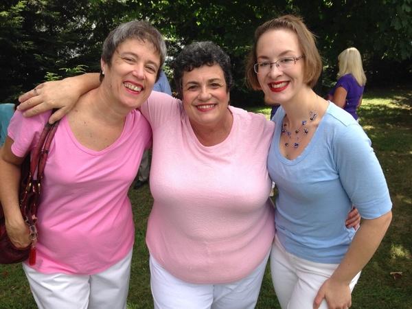 Diane, Nancy and Tanya