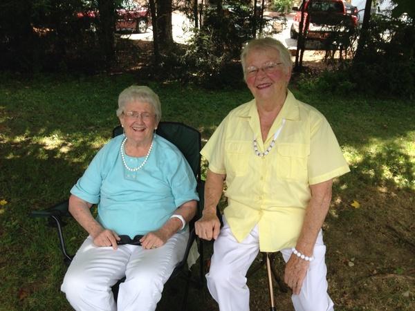 Mama Nance and Mary Jett