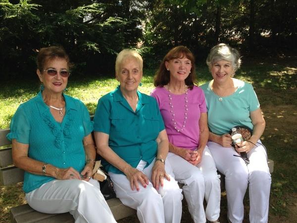 Sunny, Jeannine, Maureen and Mary