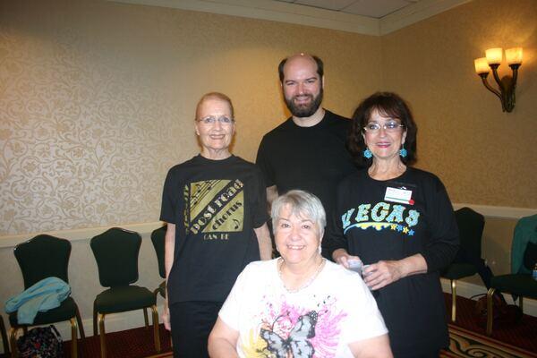 Peg, Tanya, Ray and Sunny