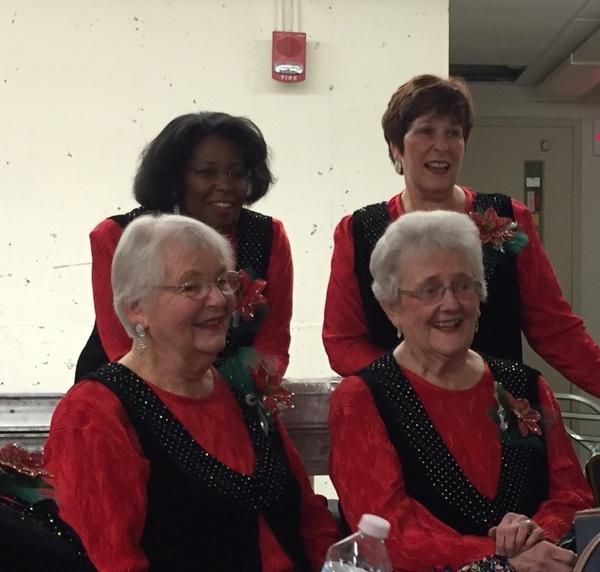 Mary Jett, Mama Nance, Faye and Faith