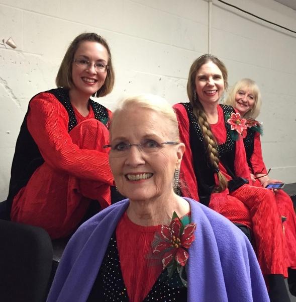 Jan, Tanya, Nancy and Donna
