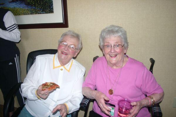 Mary Jett and Mama Nance