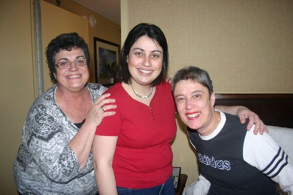 Nancy, Natalie and Diane
