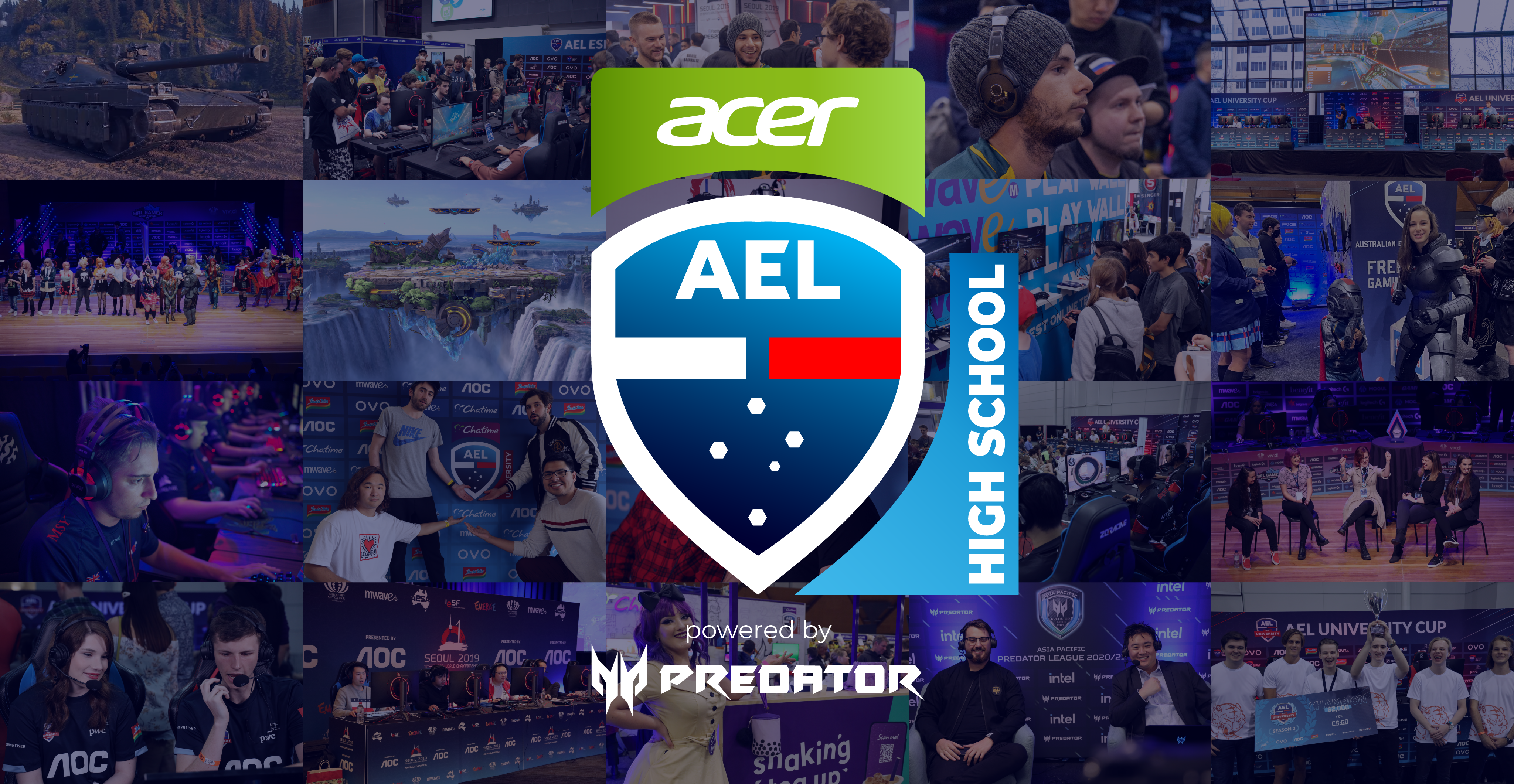 Acer Computers Australia and Australian Esports League partner to give High School esports players of the future a power boost