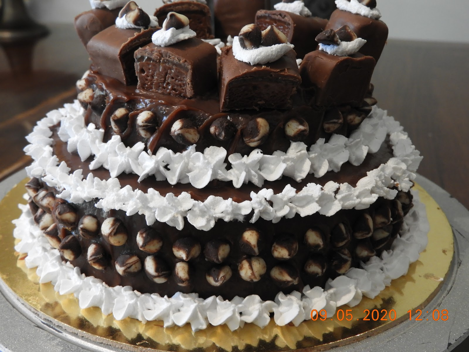 Chocolate Coffee Cake - fusion food recipe at Kitchen by Nidhi