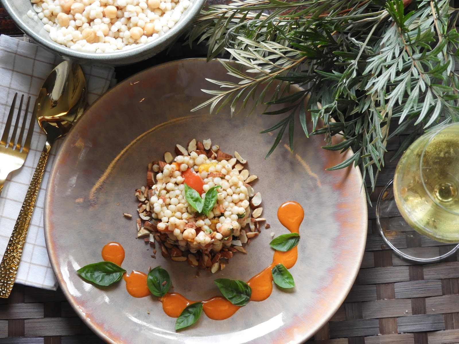 Moroccan Vegetable Couscous - Moroccan Cuisine at Kitchen by Nidhi