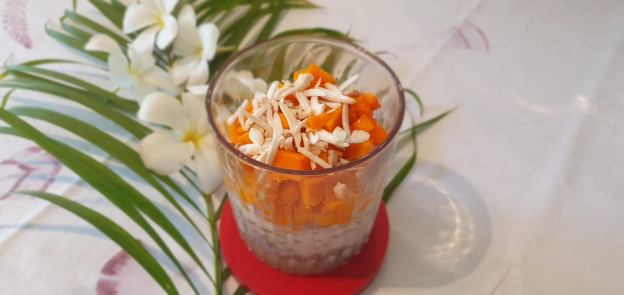 Overnight Soaked Oats - fusion food recipe at Kitchen by Nidhi