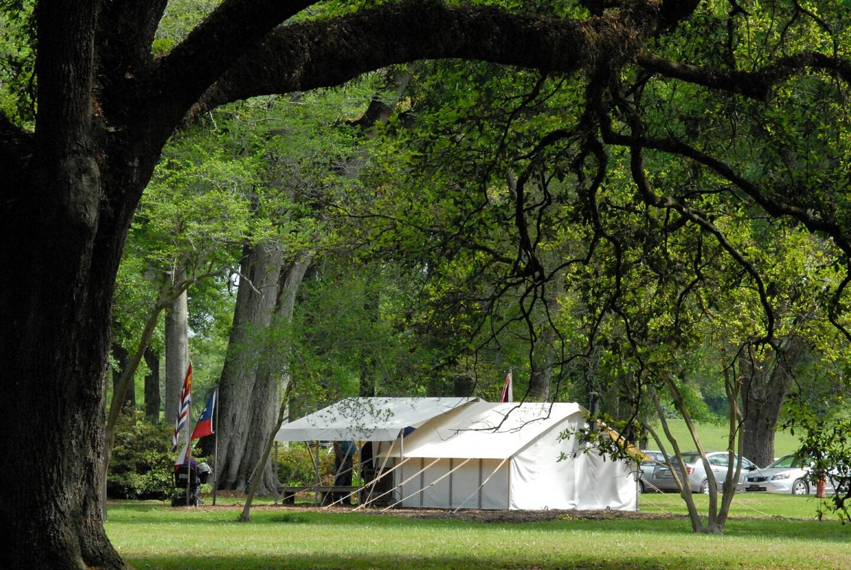 Civil War Army Tent