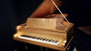 Elvis's Gold Piano