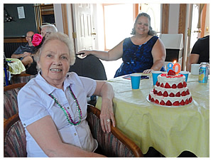 Marie's 80th Birthday