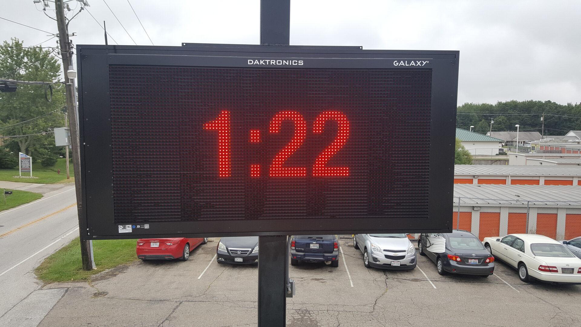 LED ECCB Message Board