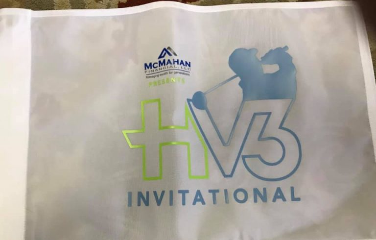 The HV3 Invitational flags have arrived!