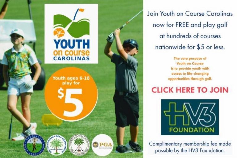 We are excited to support Youth on Course!