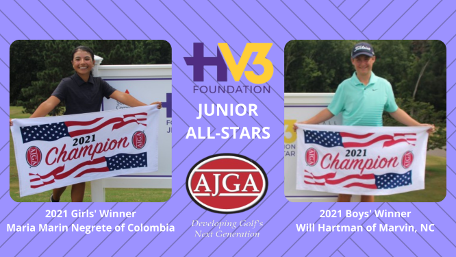 Marin-Negrete and Hartman take AJGA HV3 Foundation Junior All-Stars Titles