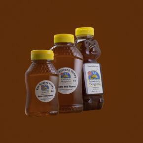 Raw Honey in Plastic