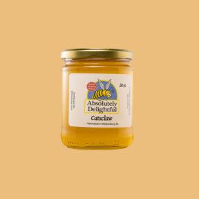 Medium 24oz Catsclaw Honey Jar