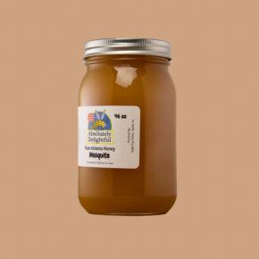Large 46oz Jar of Mesquite Honey Crystallized