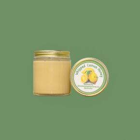 Small Whipped Lemon Honey Jar
