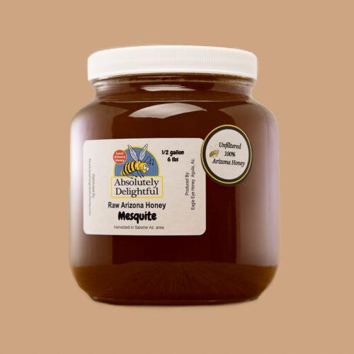 Half Gallon of Liquid Mesquite Honey
