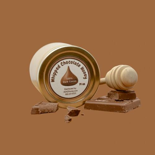 Whipped Chocolate Honey Jar with Chocolate