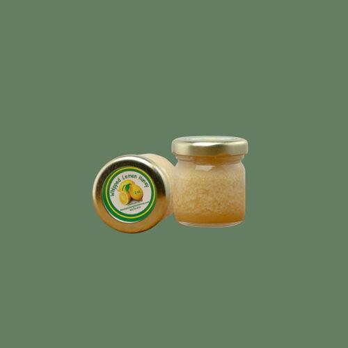 Tiny Whipped Lemon Honey Jar