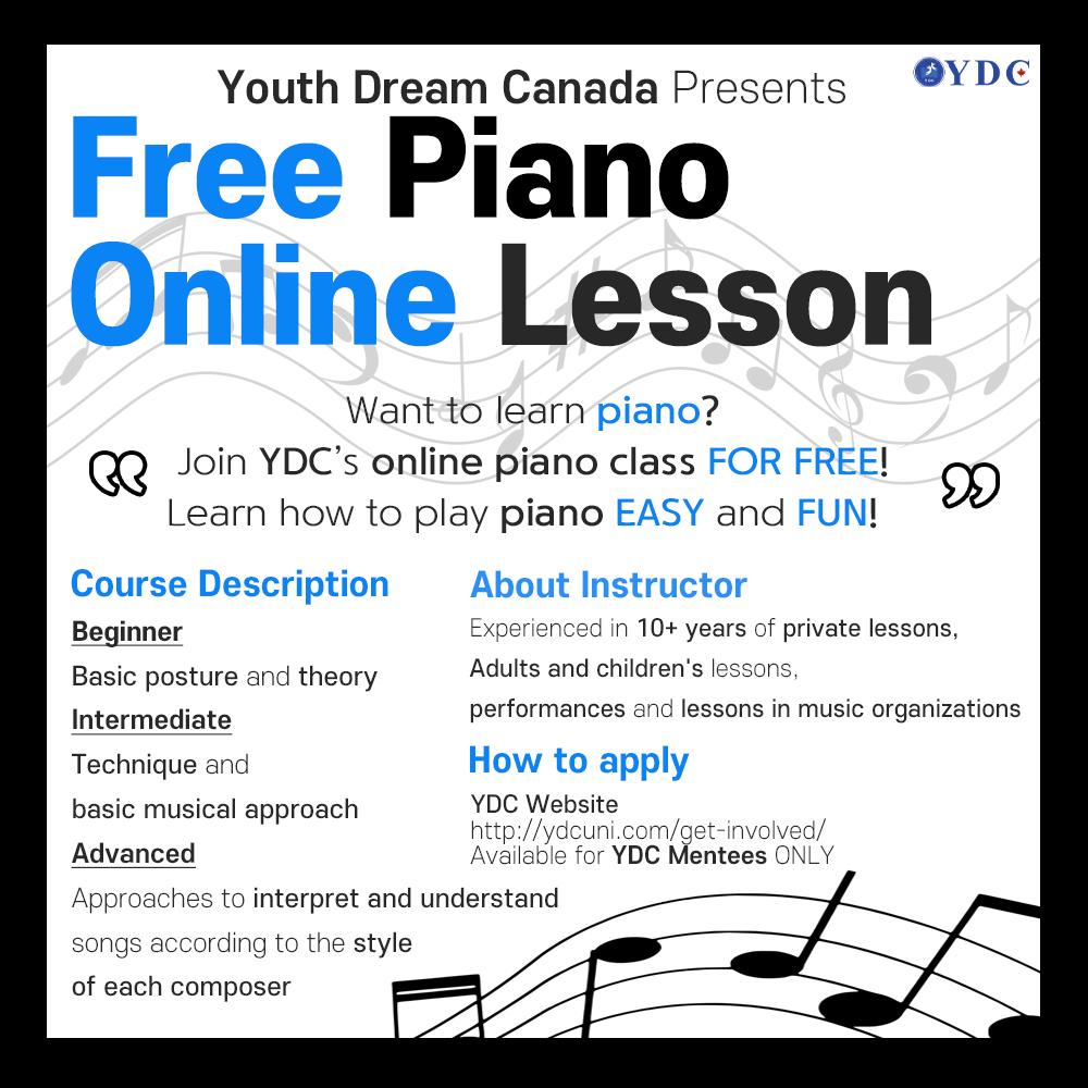 Free Piano Online Lesson