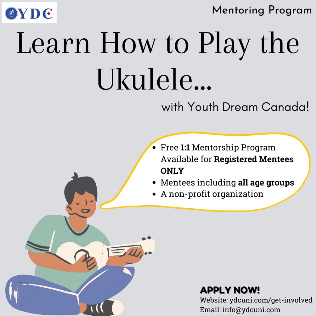 Online Ukulele Mentoring Program
