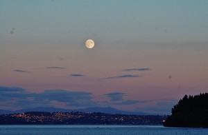 over Browns Point, Tacoma, Pt. Defiance