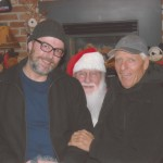 """With Seth at """"Shirley's Tippy Canoe"""" Restaurant in Troutdale, Or."""