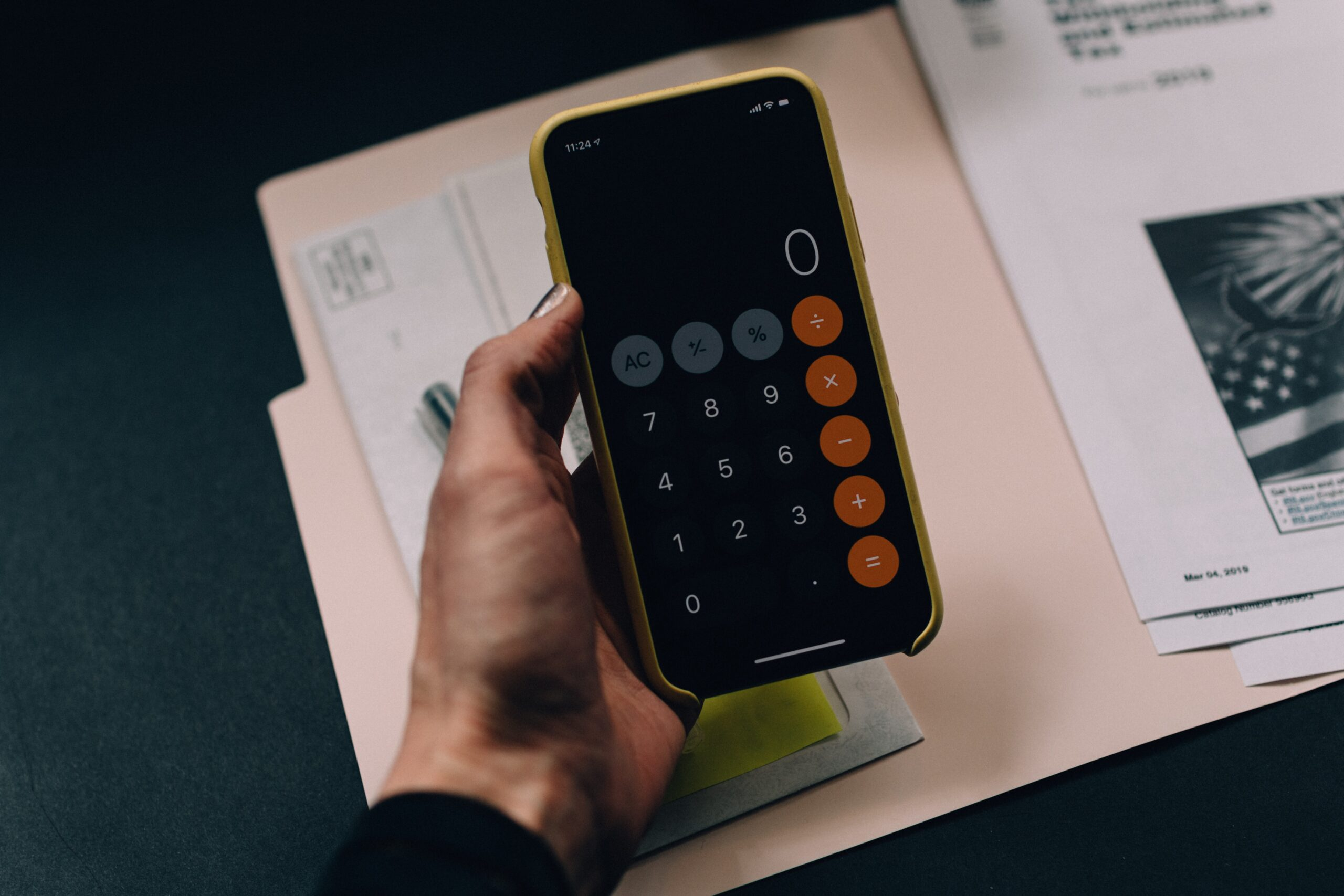 Calculator-Stock-Image