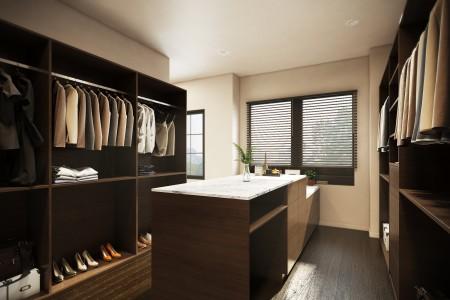 Fishers Residence - Walkin Closet 02