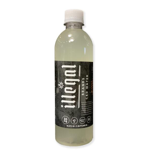 Illegal Brands 30mg CBD Infused Water - Mango Bergamot