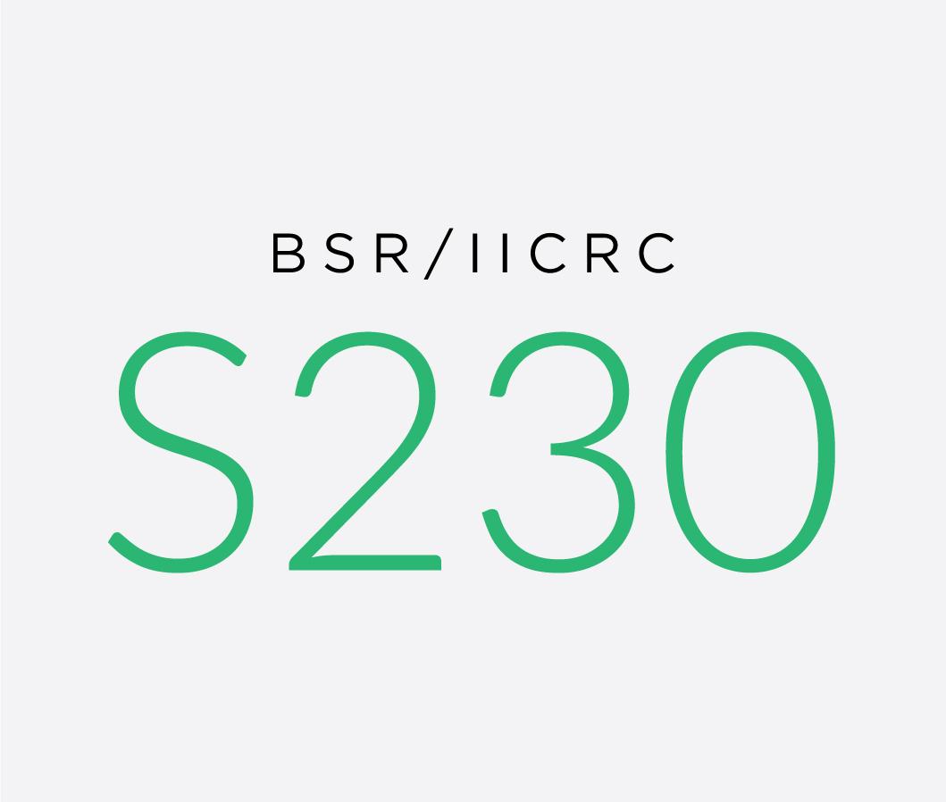 BSR-IICRC_S230