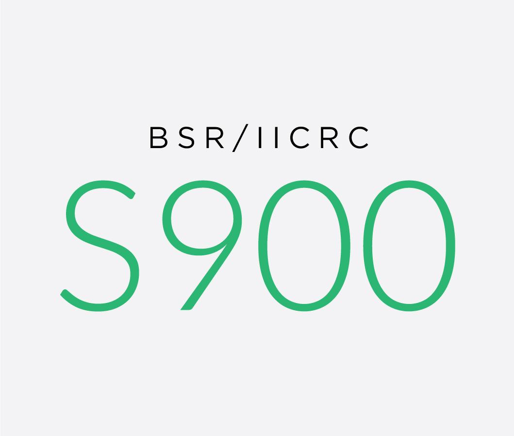 BSR-IICRC_S900