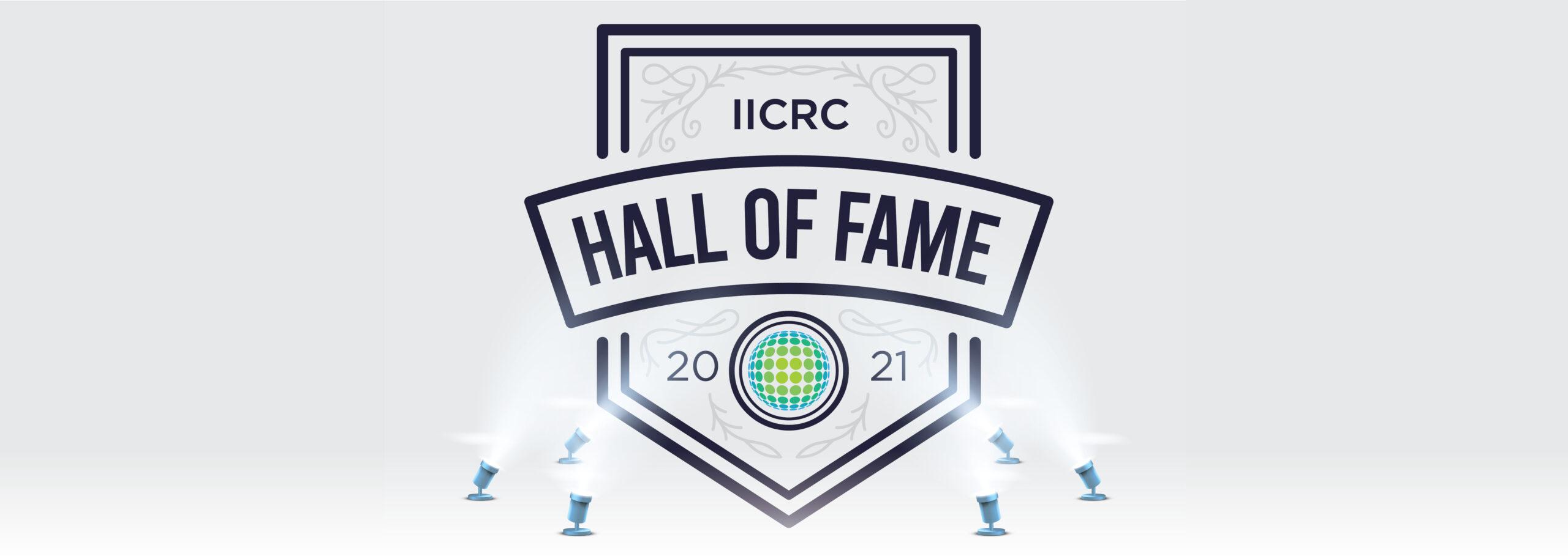 IICRC Hall of Fame 2021 page header