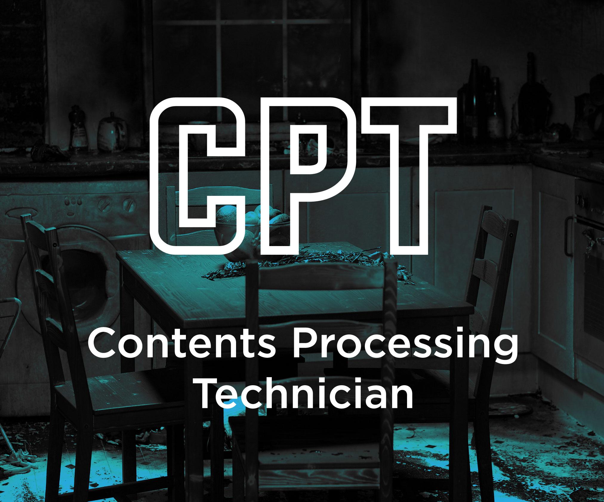 IICRC Contents Processing Technician